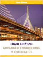Advanced engineering mathematics / Erwin Kreyszig ; in collaboration with Herbert Kreyszig, Edward J. Norminton.