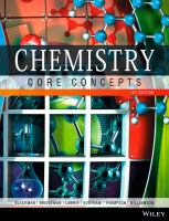 Chemistry : core concepts / Allan G. Blackman [and sixteen others].