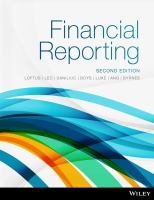 Financial Reporting, 2nd Edition.