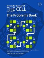 Molecular biology of the cell : the problems book / John Wilson and Tim Hunt.