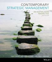 Contemporary strategic management: an Australasian perspective / Robert Grant [and others].