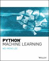 Python Machine Learning.