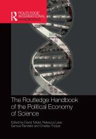The Routledge Handbook of the Political Economy of Science.
