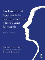 An Integrated Approach to Communication Theory and Research.