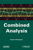 Combined analysis / Daniel Chateigner.
